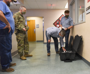 189th AW receives UV light disinfectant system; first in DOD