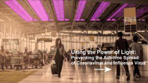 Using the Power of Light: Preventing the Airborne Spread of Coronavirus and Influenza Virus