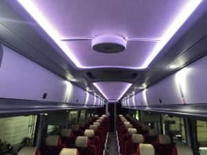 Barons Bus sees UV light as 'the best way' to disinfect coaches