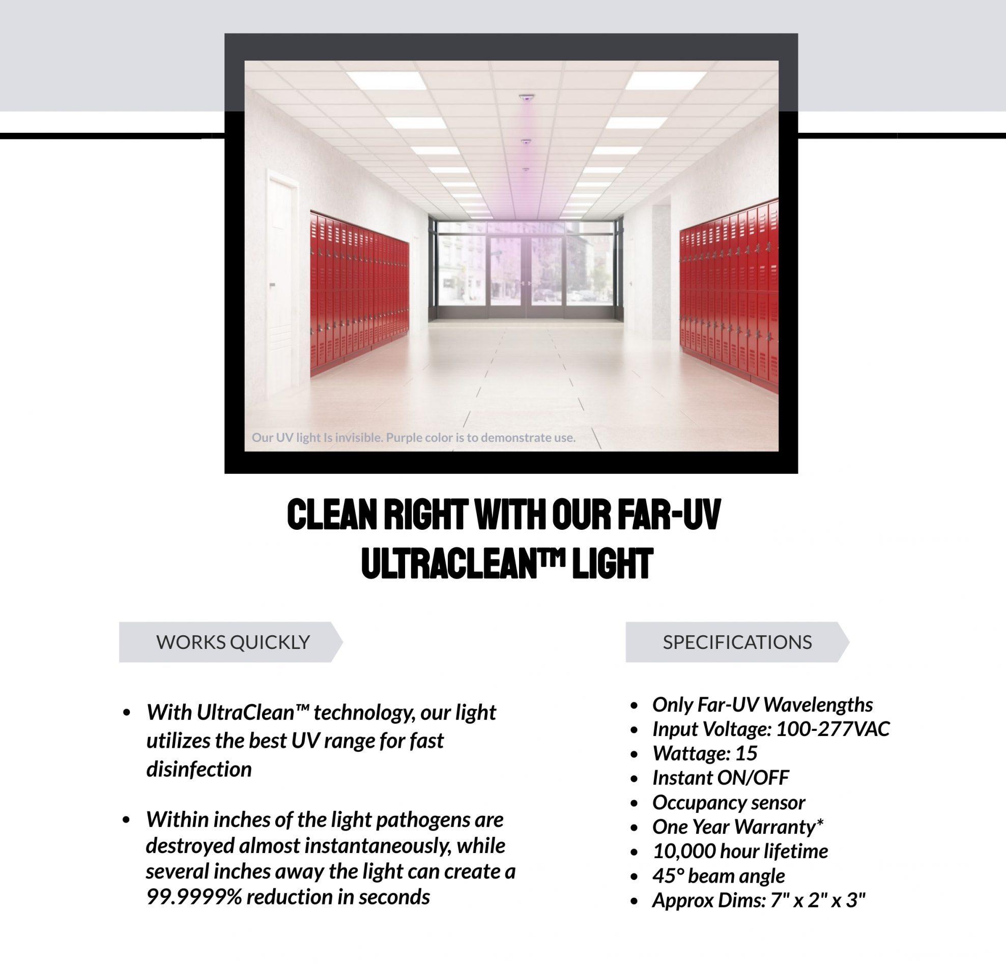 Clean With Far UV