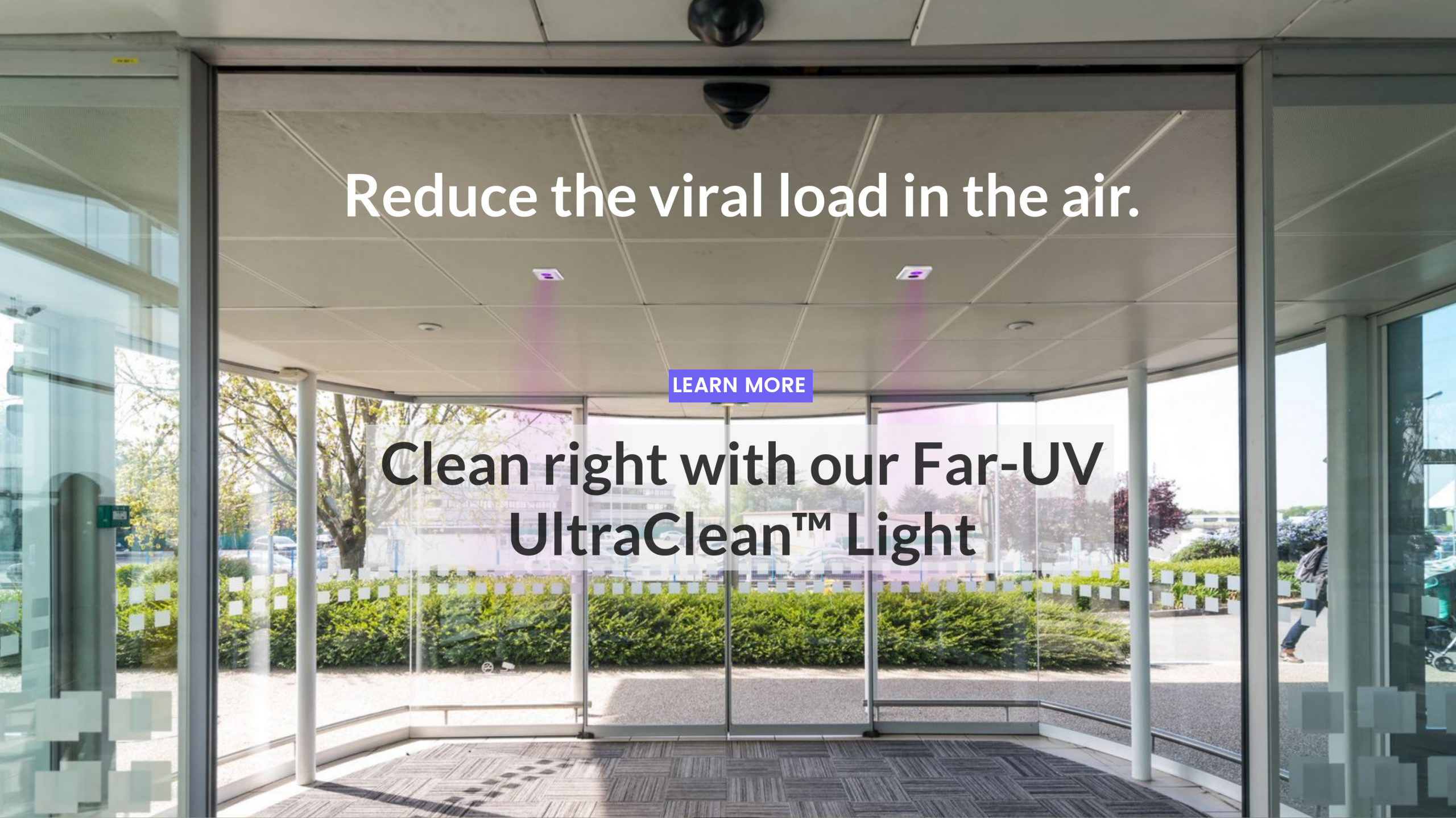 Reduce The Viral Load In The Air